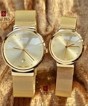 Đồng hồ cặp Julius JU1052 siêu mỏng -JA1048