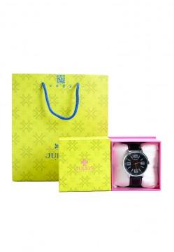 Đồng hồ nam dây da Julius Hàn Quốc JU1175-JA322