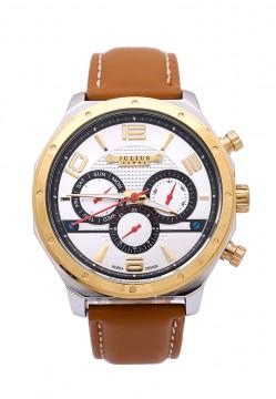 Đồng hồ nam Julius Hàn Quốc dây da JU1174-JA540