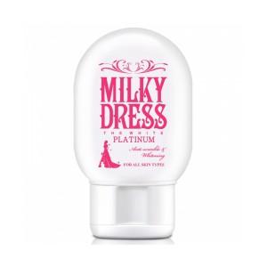 Sữa dưỡng trắng và chống lão hóa Milky Dress The White Platinum (65ml) Milky Dress M06-MK318