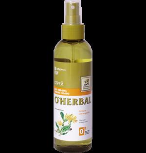 Xịt khoáng thảo dược O'Herbal dành cho tóc mảnh, mỏng, 200ml