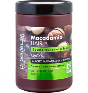 Dr. Sante Macadamia Hair Kem ủ phục hồi và bảo vệ tóc 1000ml