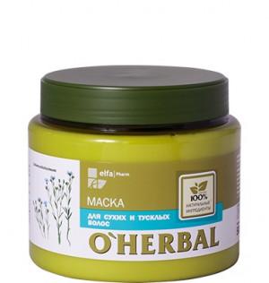 """Kem ủ thảo dược dành cho tóc khô xơ """"O'Herbal"""", 500ml,"""