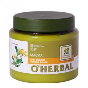 """Kem ủ dành cho tóc mảnh, mỏng """"O'Herbal"""" 500ml"""