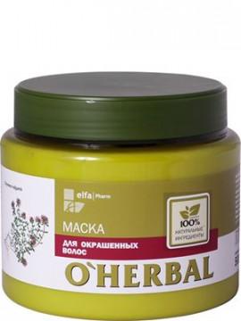 """Kem ủ thảo dược dành cho tóc nhuộm """"O'Herbal"""", 500ml-H244"""