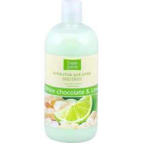 """Gel tắm hương socola trắng và tinhh dầu chanh, """"fresh juice"""", 500ml-H118"""