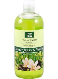 Gel tắm Sả và hương vani, Fresh juice, 500 ml