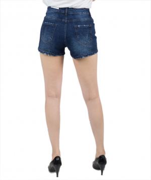 Quần Short Jean Nữ VIETJEAN Cào Xước KS29-5113.1