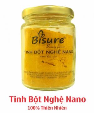 Tinh bột nghệ Nano 100% thiên nhiên-BS60