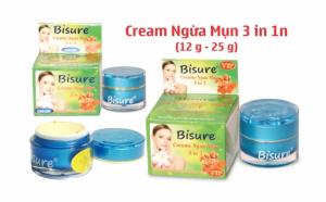Creams ngừa mụn 3 in 1 Vip 25g